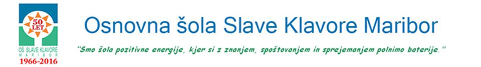 Prenovljena spletna stran OŠ Slave Klavore