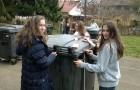 Brušenje zabojnikov za smeti