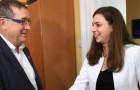 Učenki naše šole na obisku pri novi županji MO Maribor